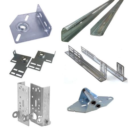 Garage Doors Bearings and Brackets, Plates, Hinges and Side Tracks